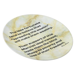 Spread the Wealth Party Plate