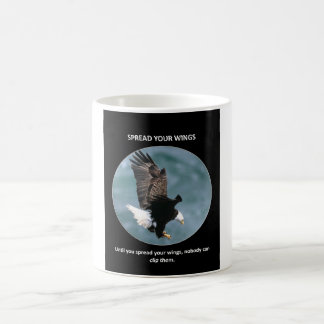 spread-your-wings classic white coffee mug