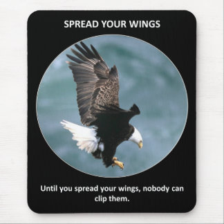 spread-your-wings mouse pad