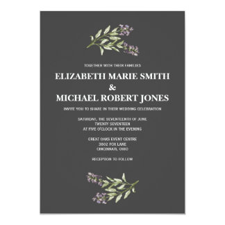 Sprig Wedding Invitations