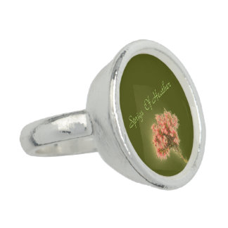 Sprigs Of Heather Photo Rings