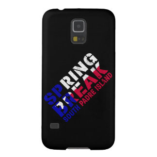 Sprin Break South Padre Island Texas Flag Cases For Galaxy S5
