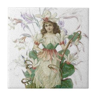 Spring 1 - Garden Angel Tile