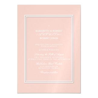 Spring 2017 Designer Colors Pale Pink Dogwood Magnetic Invitations