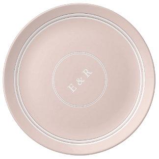 Spring 2017 Designer Colors Pale Pink Dogwood Plate