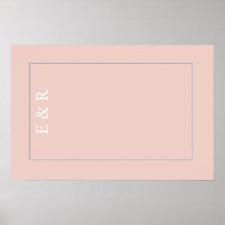 Spring 2017 Designer Colors Pale Pink Dogwood Poster