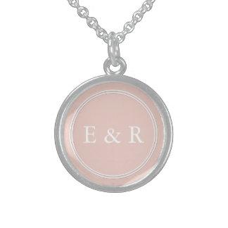 Spring 2017 Designer Colors Pale Pink Dogwood Sterling Silver Necklace