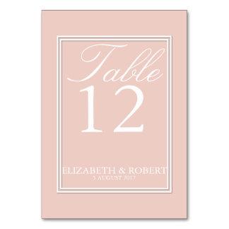 Spring 2017 Designer Colors Pale Pink Dogwood Table Cards