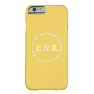 Spring 2017 Designer Colors Primrose Yellow Barely There iPhone 6 Case