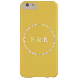 Spring 2017 Designer Colors Primrose Yellow Barely There iPhone 6 Plus Case
