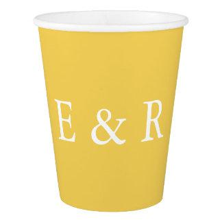 Spring 2017 Designer Colors Primrose Yellow Paper Cup