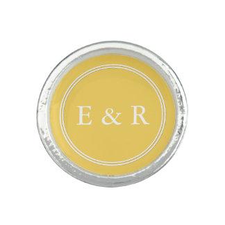 Spring 2017 Designer Colors Primrose Yellow Photo Ring
