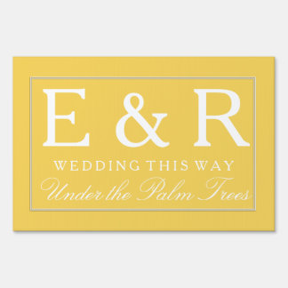 Spring 2017 Designer Colors Primrose Yellow Sign