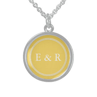 Spring 2017 Designer Colors Primrose Yellow Sterling Silver Necklace