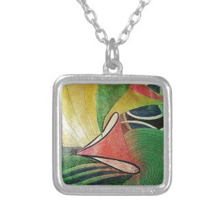 spring 25_result.JPG Silver Plated Necklace