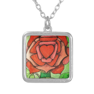 spring 30_result.JPG Silver Plated Necklace