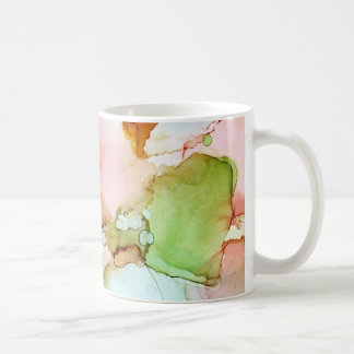 Spring - Abstract Ink Art by Karen Ruane Coffee Mug