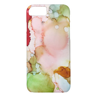 Spring - Abstract Ink Art by Karen Ruane iPhone 8/7 Case
