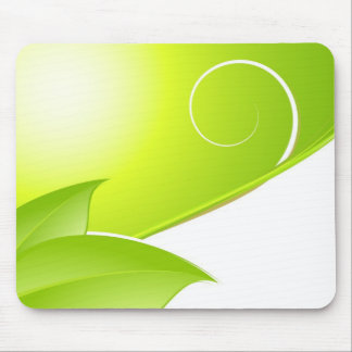 Spring Abstract Mouse Pad