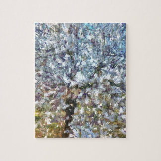 Spring Almond Blossom Jigsaw Puzzle
