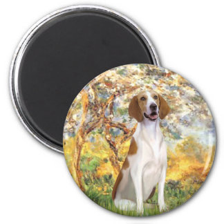 Spring- American Foxhound Magnet