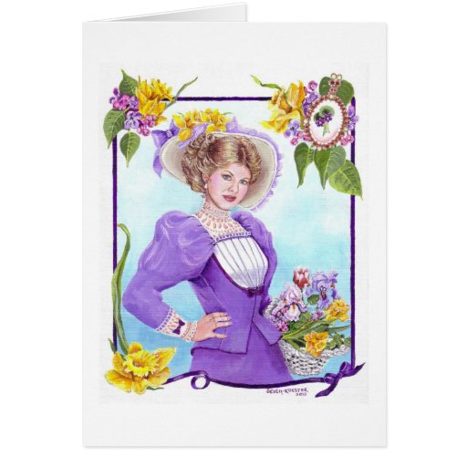 Spring and Dressed for the Easter Parade Cards