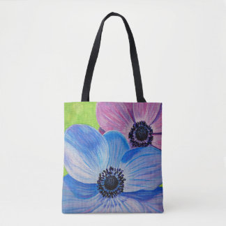 Spring Anemones Tote Bag