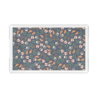 Spring Animal Prints Pattern Perfume Tray