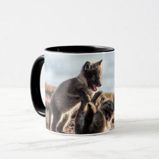 Spring - Arctic Fox Mug