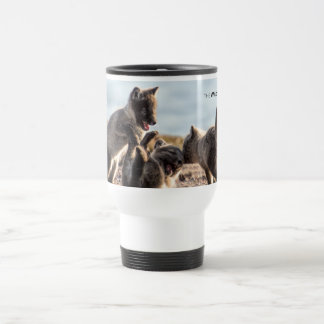 Spring - Arctic Fox Travel Mug