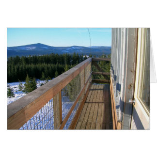 Spring at Clear Lake Butte Fire Lookout Card