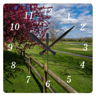 Spring At Rivercut Clocks