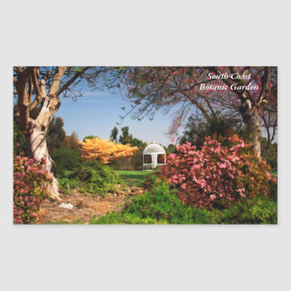 Spring at the Botanic Garden Stickers