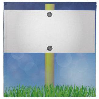 spring banner napkin