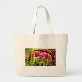 Spring Beauty, Bleeding Hearts, a favorite Large Tote Bag