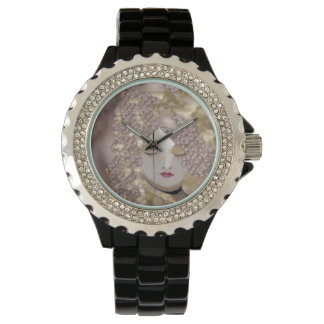 Spring Beauty on Lavender Watch for Women