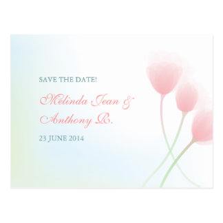 Spring Beauty Save the Date Postcard
