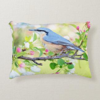 Spring Bird Decorative Pillow