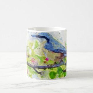 Spring Bird Painting Mug