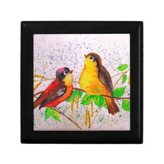 Spring birds gift box