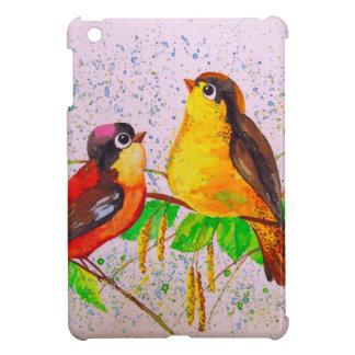 Spring birds iPad mini cover