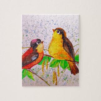 Spring birds jigsaw puzzle