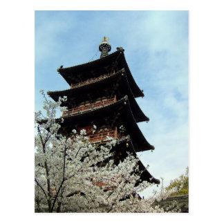 Spring Blessings/Hanshan Temple, Suzhou, China Postcard
