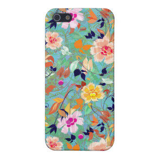 Spring Bloom-Abstract Flower Pern iPhone 5 Case