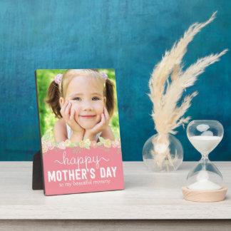 Spring Bloom Mother's Day Custom Frame Plaque
