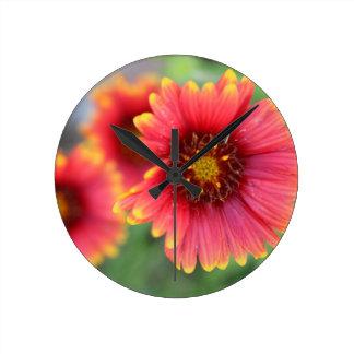 Spring Bloom Pt 2 Round Clock