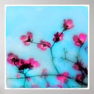Spring blossom,poster poster