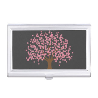 Spring Blossom Tree Business Card Cases