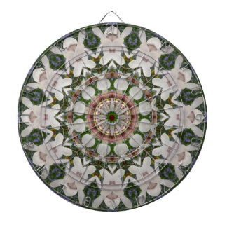 Spring blossoms 04.2, Flower-Mandala Dartboard