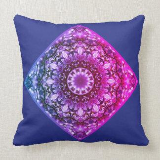 Spring blossoms 2.5.5.3.F2, Nature Mandala Throw Pillow